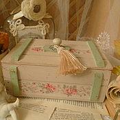 """Для дома и интерьера ручной работы. Ярмарка Мастеров - ручная работа ящик"""" Безмятежность"""". Handmade."""