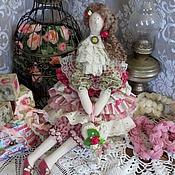 Куклы и игрушки ручной работы. Ярмарка Мастеров - ручная работа Кукла в стиле тильда Изабель. Handmade.