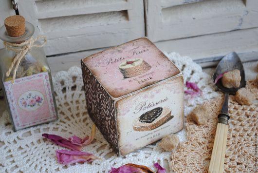 """Кухня ручной работы. Ярмарка Мастеров - ручная работа. Купить Кубик интерьерный """"Аппетитный"""". Handmade. Кубик интерьерный, кубики деревянные"""