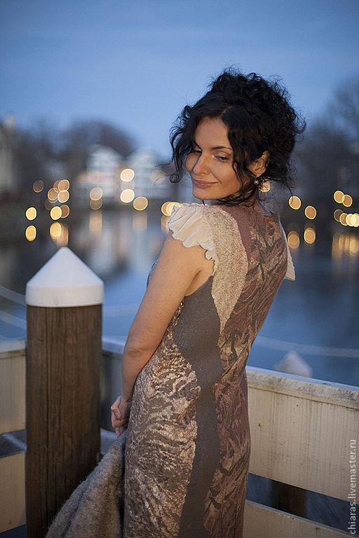 Платья ручной работы. Ярмарка Мастеров - ручная работа. Купить Платье для Ольги. Handmade. Платье на заказ, авторское платье
