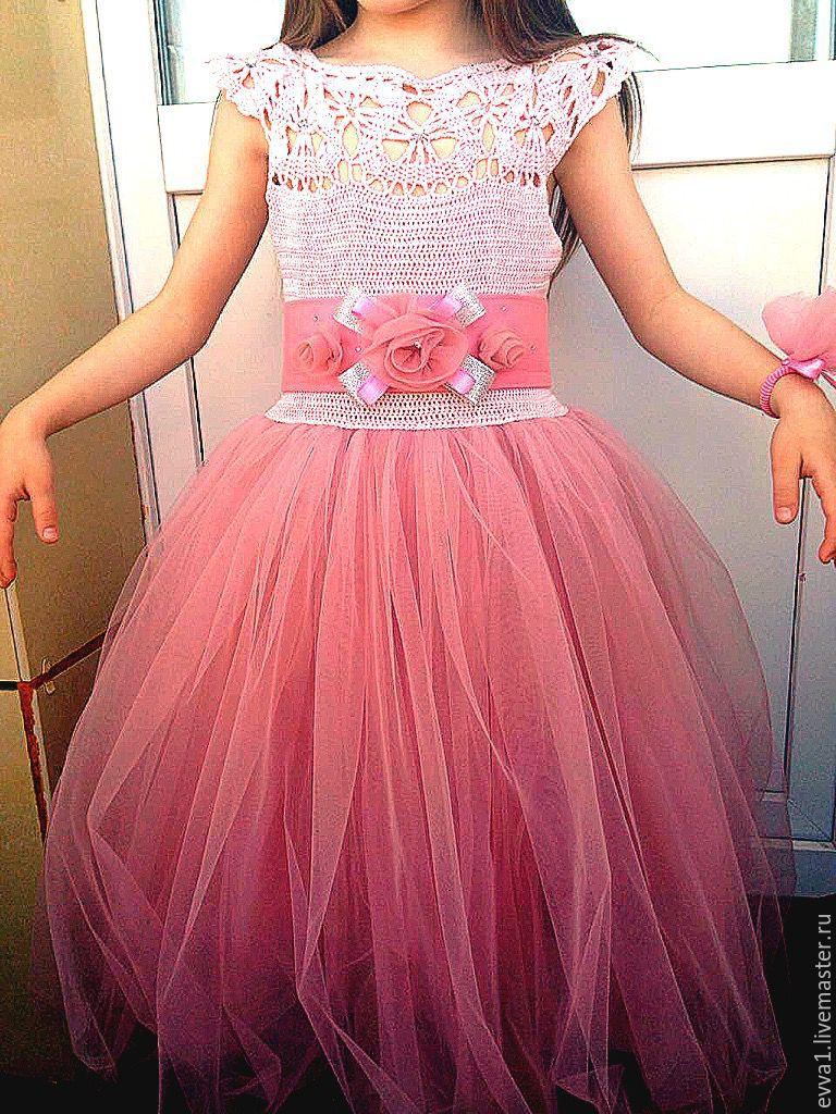 e045ca592e823fe Ярмарка Мастеров - ручная работа. Купить Нарядное платье на выпускной в  детский ...