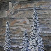 Картины и панно ручной работы. Ярмарка Мастеров - ручная работа Стражи зимы. Handmade.