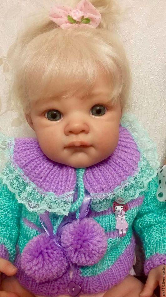 Одежда для кукол ручной работы. Ярмарка Мастеров - ручная работа. Купить Комплект для куклы. Handmade. Мятный, кукольная одежда
