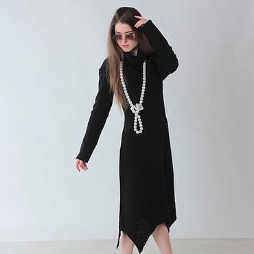Одежда ручной работы. Ярмарка Мастеров - ручная работа Платье трикотажное Стиль и шик. Handmade.