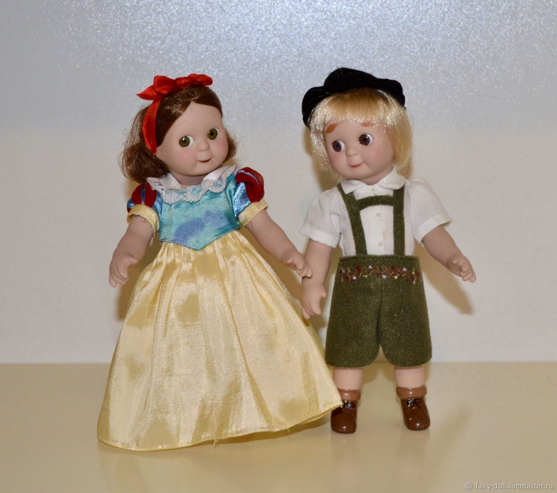 Винтаж: Фарфоровая кукла Googly, репродукция антикварной куклы, Куклы винтажные, Вышний Волочек,  Фото №1