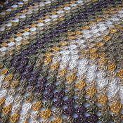 """Для дома и интерьера ручной работы. Ярмарка Мастеров - ручная работа Плед """"Марокко"""" шаль, платок  вязаный. Handmade."""