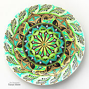 Посуда handmade. Livemaster - original item Mandala