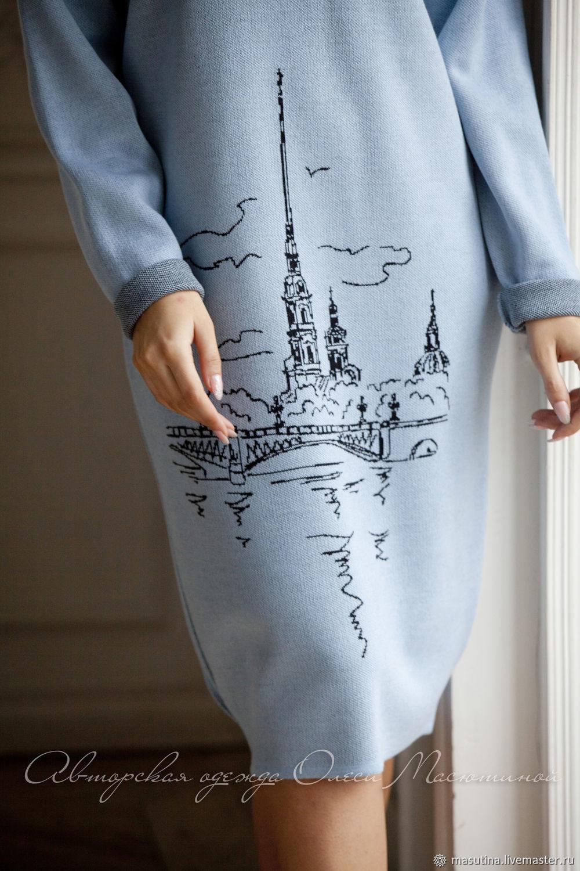 """Платье """"Здравствуй, Питер"""", Платья, Санкт-Петербург,  Фото №1"""