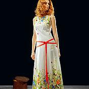 """Одежда ручной работы. Ярмарка Мастеров - ручная работа Платье """"Яркая весна"""". Handmade."""