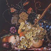 Картины и панно handmade. Livemaster - original item Fruit painting Dutch still life oil painting. Handmade.