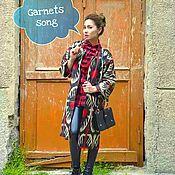 Одежда ручной работы. Ярмарка Мастеров - ручная работа Пальто из адраса. Handmade.
