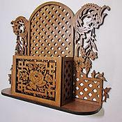 Для дома и интерьера manualidades. Livemaster - hecho a mano Wall shelf stand. Handmade.