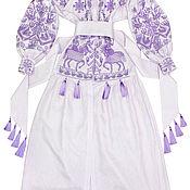 "Одежда handmade. Livemaster - original item Lilac dress ""Arabian horseman"". Handmade."
