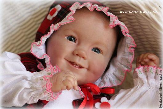 Куклы-младенцы и reborn ручной работы. Ярмарка Мастеров - ручная работа. Купить Эмилия , кукла реборн.. Handmade. Кремовый, ковылина