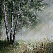 Картины и панно ручной работы. Ярмарка Мастеров - ручная работа В дымке рассвета.. Handmade.