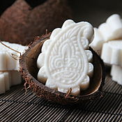 """Шампуни ручной работы. Ярмарка Мастеров - ручная работа Шампуни: """"Кокосовый"""" натуральный твердый. Handmade."""