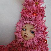 Куклы и игрушки ручной работы. Ярмарка Мастеров - ручная работа Елочка розовая. Handmade.