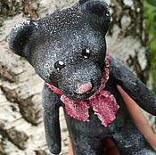 Куклы и игрушки ручной работы. Ярмарка Мастеров - ручная работа Мишка Кузя из папье-маше. Handmade.