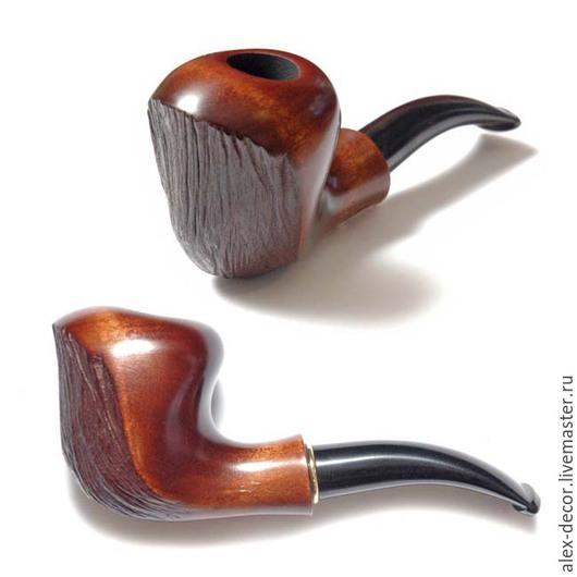 """Подарки для мужчин, ручной работы. Ярмарка Мастеров - ручная работа. Купить Курительная трубка """"Wave"""". Handmade. Трубка, курительные трубки"""