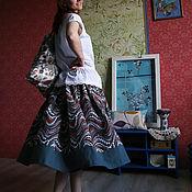 Одежда ручной работы. Ярмарка Мастеров - ручная работа Хлопковая пышная юбочка. Handmade.