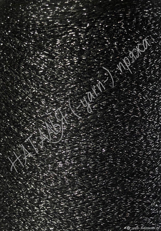 Пряжа Кашемир люрекс New evening cash черный – купить на Ярмарке Мастеров – IVUWRRU | Пряжа, Санкт-Петербург