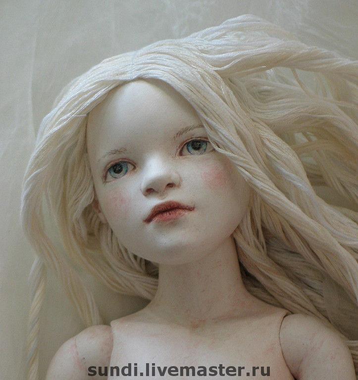 Коллекционные куклы ручной работы. Ярмарка Мастеров - ручная работа. Купить Амата. Handmade. Шарнирная кукла