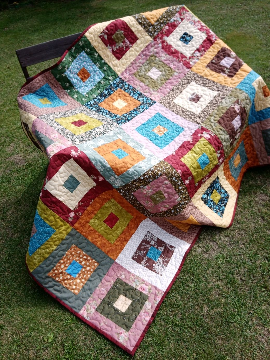Лоскутное одеяло, Одеяла, Бор,  Фото №1