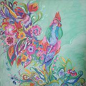 Картины и панно ручной работы. Ярмарка Мастеров - ручная работа Петя Петушок. Handmade.