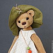 Куклы и игрушки ручной работы. Ярмарка Мастеров - ручная работа Миа с улиткой по имени Зюзя. Handmade.
