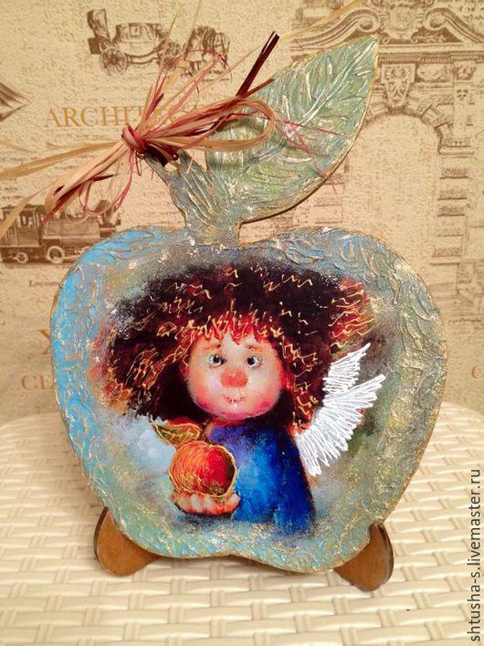 """Фэнтези ручной работы. Ярмарка Мастеров - ручная работа. Купить Панно """"Солнечный ангел"""". Handmade. Панно, Символ счастья"""