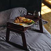 Подносы ручной работы. Ярмарка Мастеров - ручная работа Столик для завтрака/столик в кровать. Handmade.