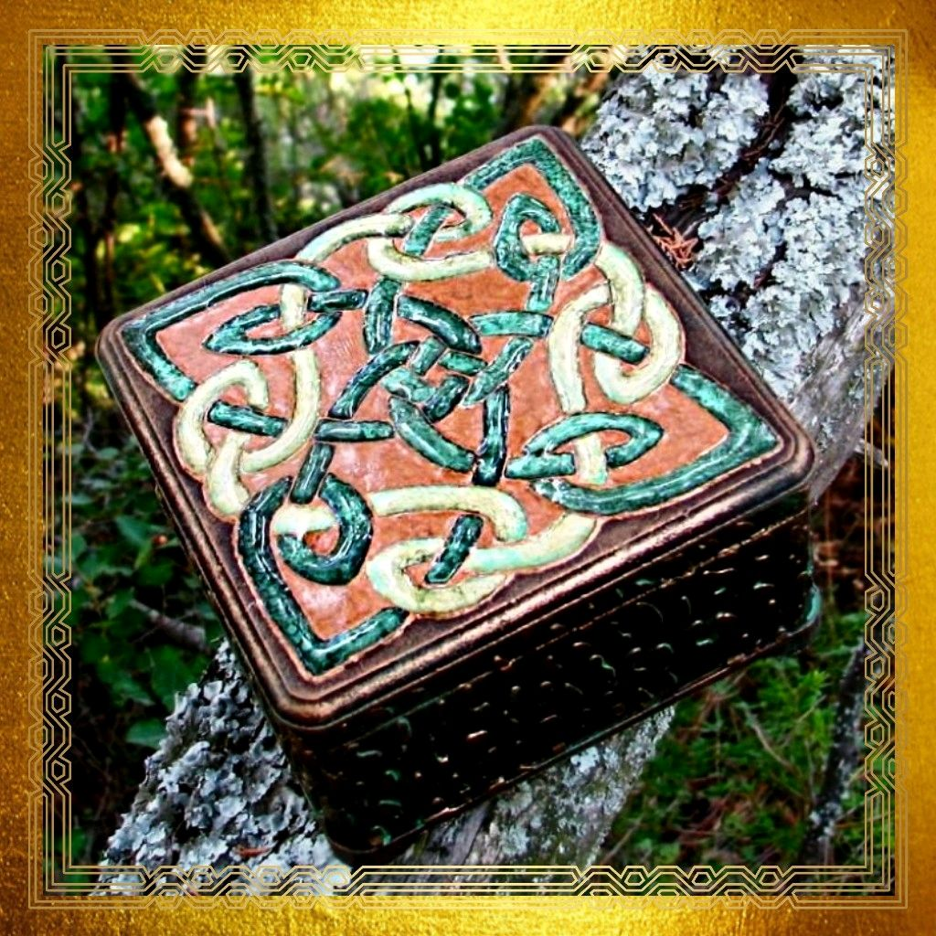 Casket Tales of the Celtic forest, Box, Moscow,  Фото №1