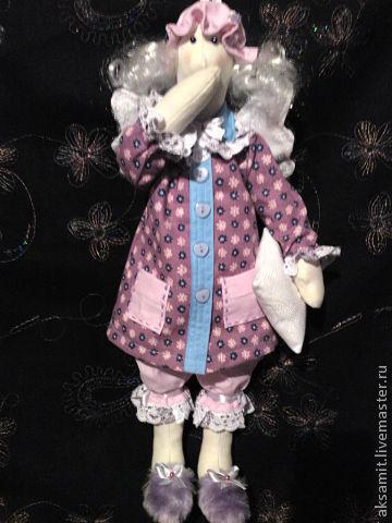 Куклы Тильды ручной работы. Ярмарка Мастеров - ручная работа. Купить сплюшка Тильда. Handmade. Интерьерная кукла