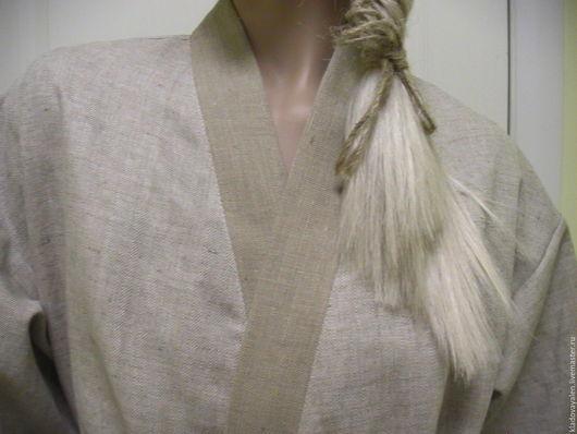 Халат льняной кимоно `Благородный`