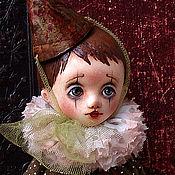 Куклы и игрушки handmade. Livemaster - original item OOAK Art doll sad clown Louis. Handmade.