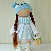 Куклы и игрушки ручной работы. Ярмарка Мастеров - ручная работа Куколка Собачка. Handmade.