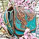 Order Handbag female leather. schwanzchen. Livemaster. . Classic Bag Фото №3