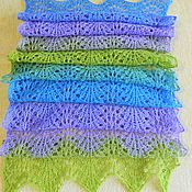 "Аксессуары handmade. Livemaster - original item scarf ""Lilac"". Handmade."