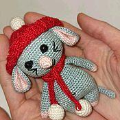 Мягкие игрушки ручной работы. Ярмарка Мастеров - ручная работа Мышка малышка. Handmade.