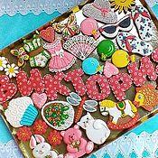 Сувениры и подарки handmade. Livemaster - original item Gingerbread Birthday. Set of cakes for the children. Handmade.