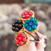 Посуда handmade. Livemaster - original item Delicious spoon with fruit baskets. Handmade.
