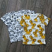 Одежда handmade. Livemaster - original item T-shirt for boys. Handmade.
