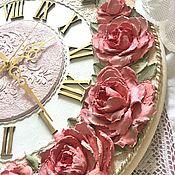 Для дома и интерьера ручной работы. Ярмарка Мастеров - ручная работа Часы настенные Белла Коралл. Handmade.