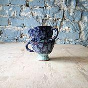 Посуда ручной работы. Ярмарка Мастеров - ручная работа Кружки двухцветные #2. Handmade.