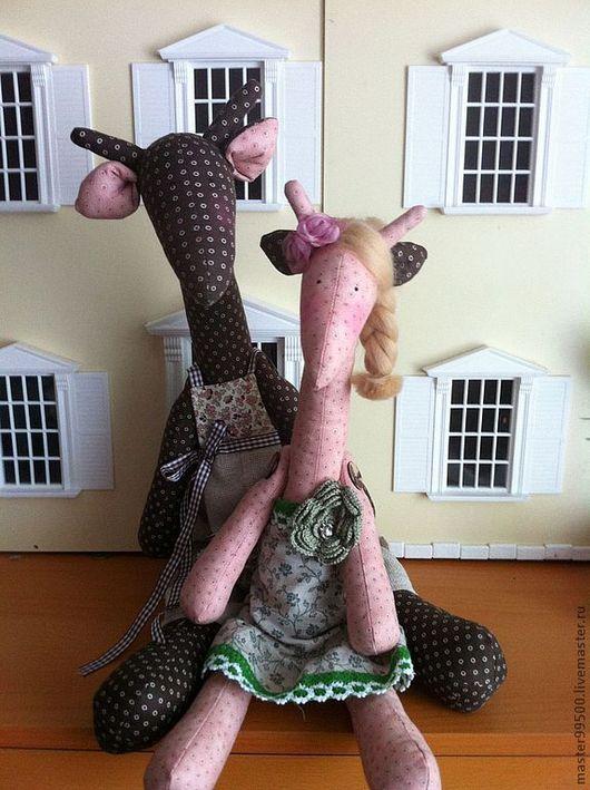 Куклы Тильды ручной работы. Ярмарка Мастеров - ручная работа. Купить тильда (жираф) кукла. Handmade. Тильда, интерьерная кукла