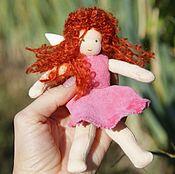 Вальдорфские куклы и звери ручной работы. Ярмарка Мастеров - ручная работа Вальдорфская фея Розетта 13 см. Handmade.