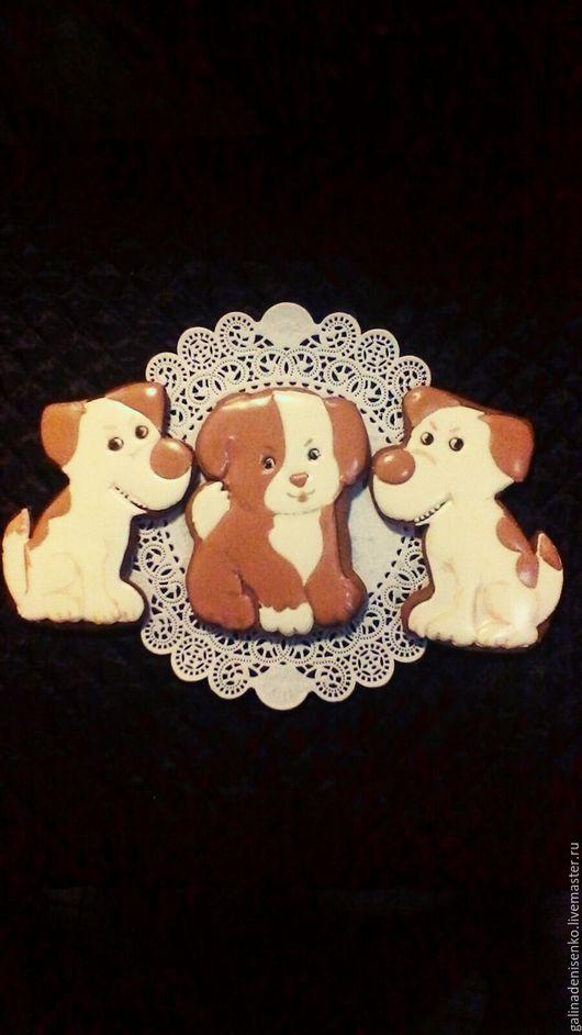 Кулинарные сувениры ручной работы. Ярмарка Мастеров - ручная работа. Купить Веселый щенок(два вида). Handmade. Белый, оригинальный сувенир