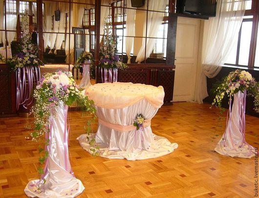 Свадебные цветы ручной работы. Ярмарка Мастеров - ручная работа. Купить Выездная регистрация. Handmade. Сиреневый, гортензия