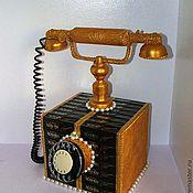 Сувениры и подарки ручной работы. Ярмарка Мастеров - ручная работа Телефон в стиле ретро. Handmade.