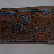 Картины и панно handmade. Livemaster - original item Stratim-bird. Panels on the old boards.. Handmade.
